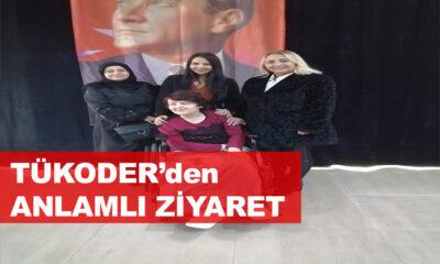 """TÜKODER """"Doktor Nejat Akyol Özel Bakım Ünitesini"""" Ziyaret Etti"""