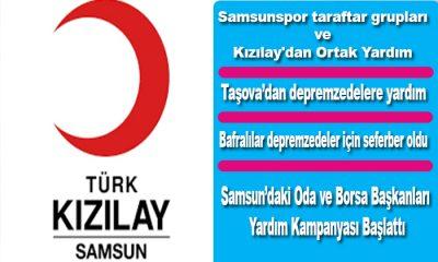 Samsun'dan Elazığ ve Malatya'ya Seferberlik Hazırlıkları