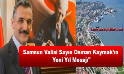 Valimiz Sayın Osman Kaymak'ın Yeni Yıl Mesajı