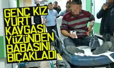 Yurtta Kalmak İstemeyen Kız Babasını Bıçakladı