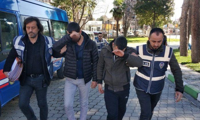 30 evden su saati çalan amca-yeğen yakalandı