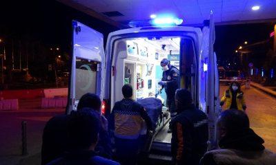 800 derecelik enjeksiyon makinesine sıkışan işçi ağır yaralandı