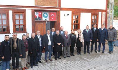 Ak Parti Yönetiminden Mübadele Derneğine Hayırlı Olsun Ziyareti