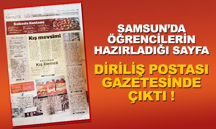 Çarşamba İmam Hatip Ortaokulu Gazete Sayfası Hazırladı