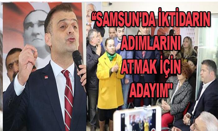 """Fatih Türkel """"Samsun'da İktidarın Adımlarını Atmak için Adayım"""" dedi"""