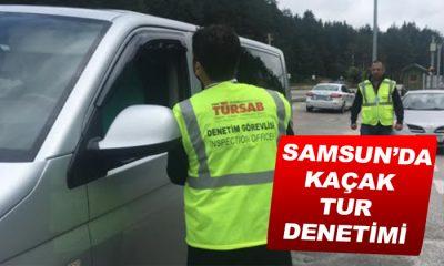 Samsun'da Tur Araçlarına Denetim Uyarısı