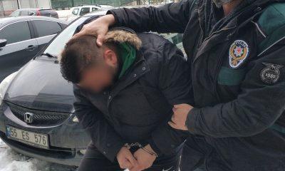 Eroin ve kokain ile yakalanan genç tutuklandı