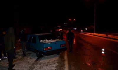 Gizli buzlanma kazaya yol açtı: 1 yaralı