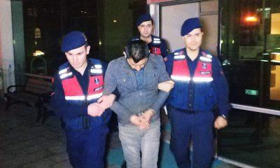 İnşaattan hırsızlık zanlısı tutuklandı
