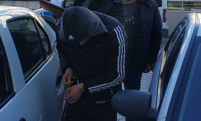 Kamyonet hırsızlığına gözaltı