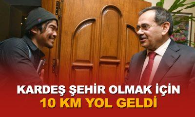 Samsun'a gelebilmek için 10 bin kilometre yol kat etti