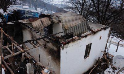 Ordu'da yangın: 1 ev kül oldu