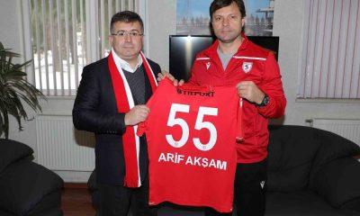 Sağlam'dan Akşam'a Samsunspor forması