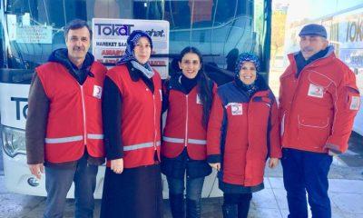 Canik Şube Başkanı Hatice ÖRS 5 Kişilik Ekibi ile Elazığ'a Yardıma Gidiyor