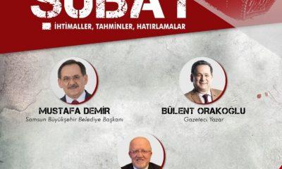 """Samsun'da """"28 Şubat"""" konuşulacak"""