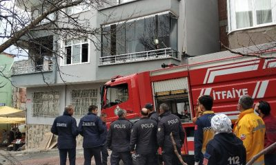 Samsun'da ev yangını