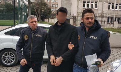 Samsun'da FETÖ'den 1 şahsa gözaltı