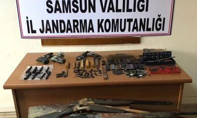Samsun'da kurusıkıdan gerçek silah yapan şahıs yakalandı