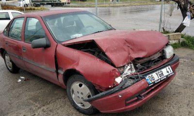 Samsun'da otomobil ile ticari araç çarpıştı: 6 yaralı