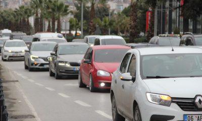 Samsun'da taşıt sayısı 361 bin 185 oldu