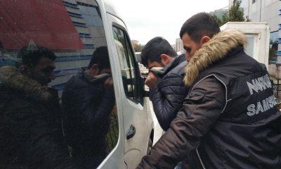 Samsun'da uyuşturucu ticaretinden 11 kişi tutuklandı