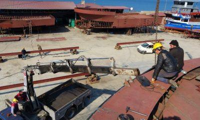 Üç ülkenin balıkçı tekneleri Ordu'da üretiliyor