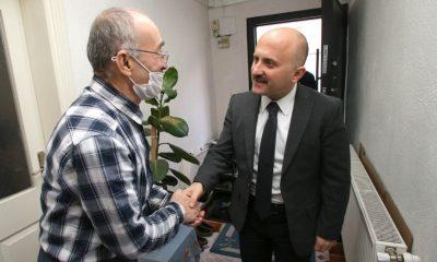 Vali Varol, Kıbrıs Gazisi Sucu'yu ziyaret etti