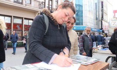 100 kadın, askere gitmek için gönüllü imza attı