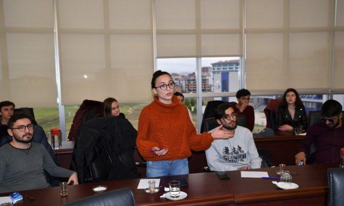 5 ülkeden görme engelliler Samsun'da buluştu