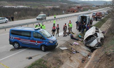Amasya'da minibüs kazası: 2 ölü, 7 yaralı