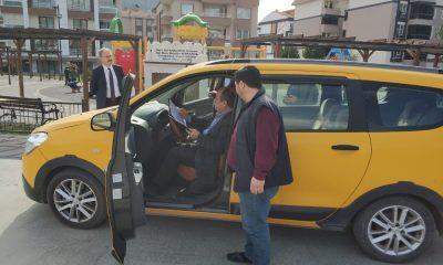 Amasya'da taksimetre denetimi