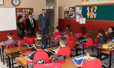 Başkan Kılıç'tan okullara özel ilgi