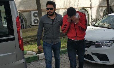 Bir kadının cep telefonunu gasp eden şahıs tutuklandı