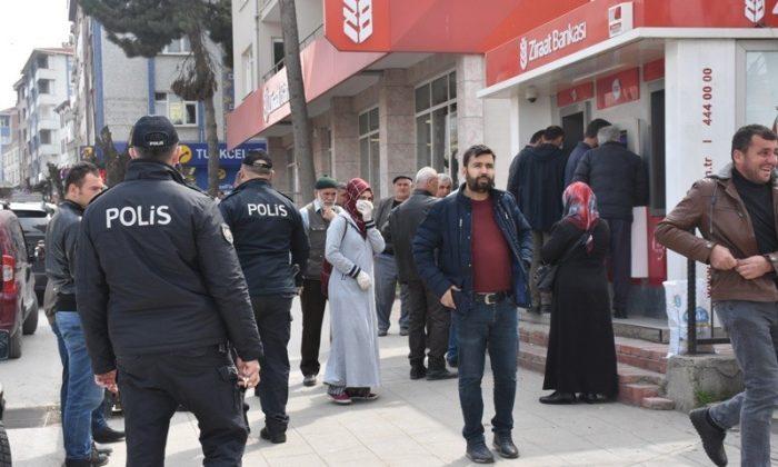 Boyabat'ta yasağa uymayan 65 yaş üstü kişilere ceza