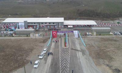 Doğu Karadeniz'in en büyük mezbahası Fatsa'da açıldı
