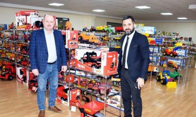 Dünyaca ünlü lisanslı oyuncaklar Sinop'ta üretilecek