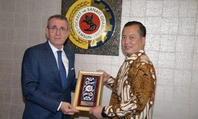 Endonezya Büyükelçisi Ikbal, iş birliği için Samsun'da