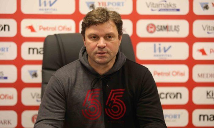 """Ertuğrul Sağlam'dan korona yorumu: """"Bu maçı kazanmak zorundayız"""""""