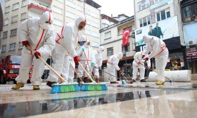 Fatsa Belediyesi'nden dezenfekte çalışmaları