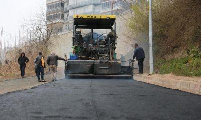 Fatsa Belediyesi'nin asfalt çalışmaları