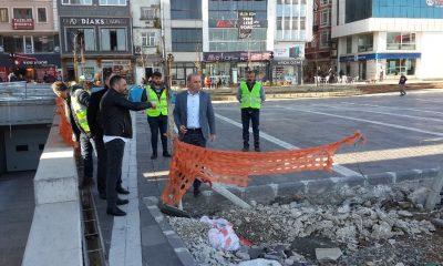 Fatsa Cumhuriyet Meydanı'nda sona gelindi