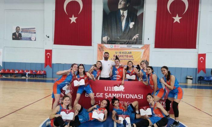 İlkadımlı basketbolcular Anadolu Şampiyonası'nda