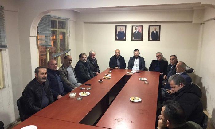 MHP Türkeli İlçe Başkanlığı'nda Yılmaz dönemi