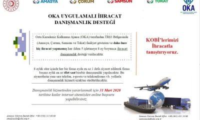 OKA'dan ihracat yapmak isteyen firmalara destek