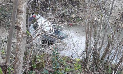 Ordu'da otomobil dereye uçtu: 4 yaralı