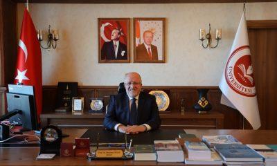 """Rektör Aydın: """"Mehmet Akif Ersoy milletimiz için bir moral ve cesaret kaynağı olmuştur"""""""