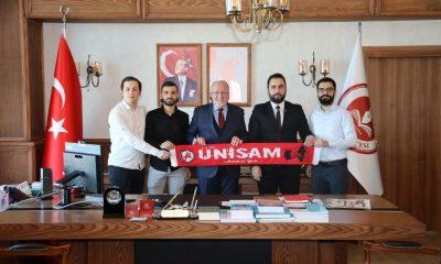 """Rektör Aydın: """"Samsunsporumuzu gönülden destekliyoruz"""""""