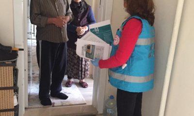 Sağlık ekipleri evlerde