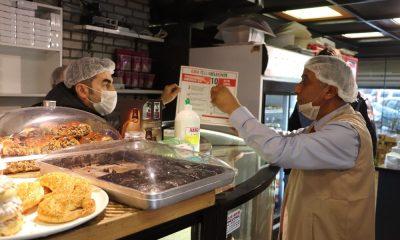 Samsun'da gıda işletmelerine geniş çaplı hijyen denetimi