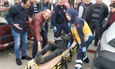 Samsun'da kavgada bir kişi hastanelik oldu